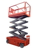 hot sell ! JCPT0807DC electric scissor lift aerial work platform self-propelled automatic drive scissor lift