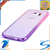Soft tpu silicone gradient phone cover for SAMSUNG galaxy s6 edge plus