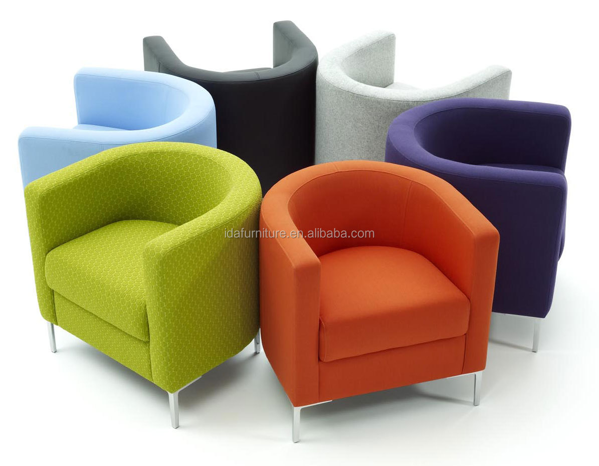 cafe chair modern club tub coffee shop chair View fabric tub