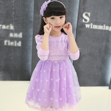 Baby clothing girls dresses one piece girls party dresses children frocks design