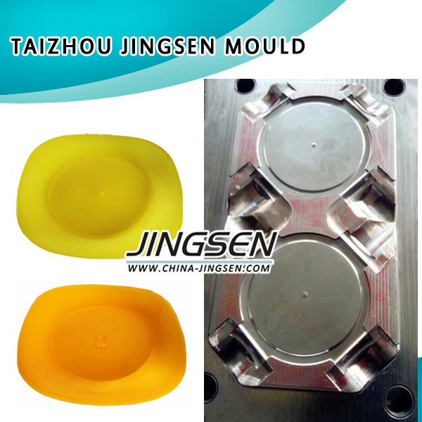 China Plastic Mold Factory/ BMC Kitchen Ware Plate, plastic mould maker
