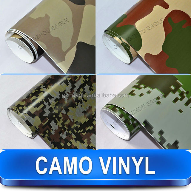 Military Vehicle Bomb Pvc Wrap, Camouflage Vinyl Car Full Body Sticker For Paint Protection