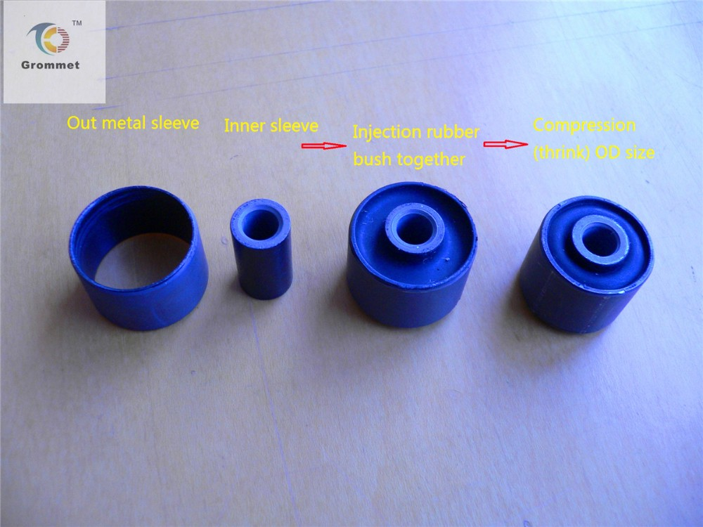 centrifugal clutch bush, rubber bush for clutch,flexible rubber bushing