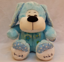Promotional T-shirt Cute Plush Dog , best made toys plush dog stuffed animal