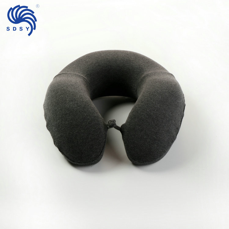 Comfortable sleep U shape neck pillow memory foam travel
