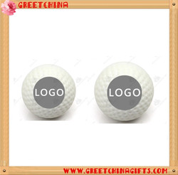 Custom logo printing white golf promotional balls