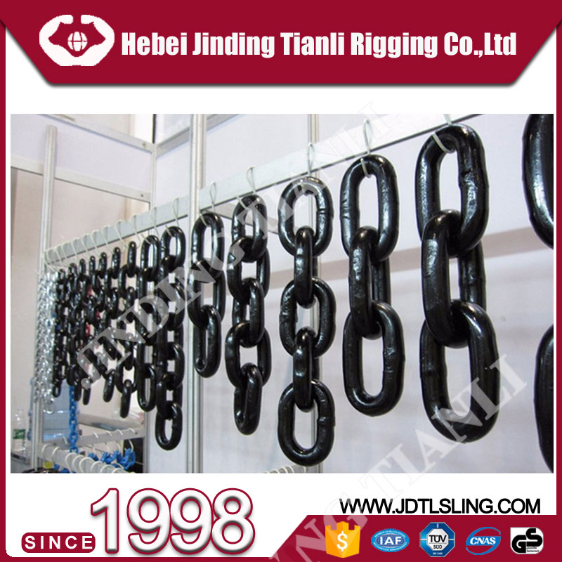 coal mining conveyor chain grade 80 welded link chain stainless chains