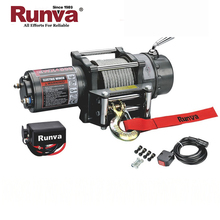 Runva China Manufacturer Factory price CE Certification 4x4 off road recovery 12 volt 4500lb winch