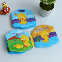 Baby Bath Book with Waterproof Function