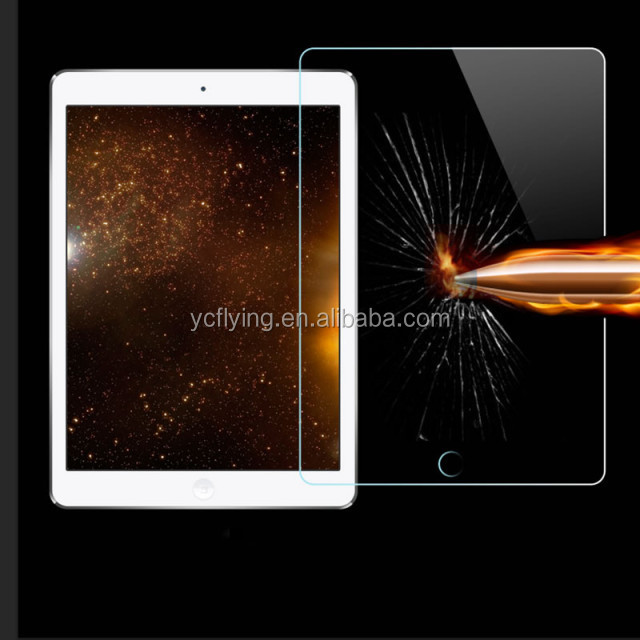 New arrival Round edge tempered glass screen protector for Apple iPad mini 2