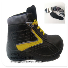 Plastic name brand sneakers shoes sporty safety shoe leather