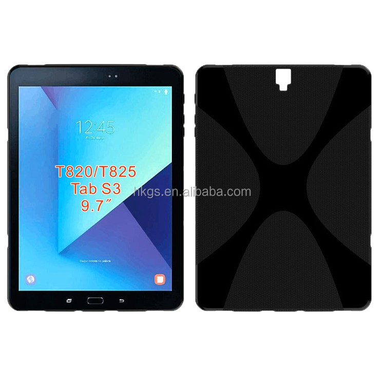 Premium X Line Soft TPU 9.7 Tablet Case For Samsung Galaxy Tab S3 T825 T820