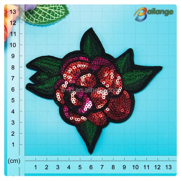 Вышивка из пайеток цветы 25