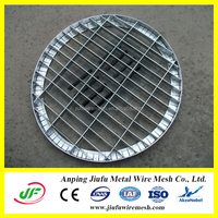 round shape galvanized steel bar concrete drainage grating