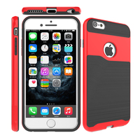 Protective skin for mobile phone accessories case for iphone 6 decorative tpu pc cover armor