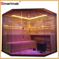 wet steam sauna room with hothouse sauna dome