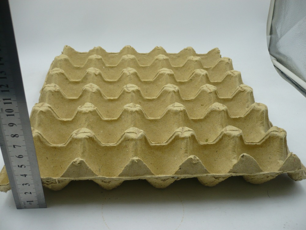 Waterproof packaging pulp packaging biodegradable carton for How to make paper egg trays