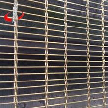 Diamond Hole Size Curtain Wall Decorative Wire Mesh