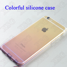 TPU clear phone case for iphone6/transparent phone case/for iphone 6 case transparent