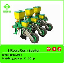 Small tractor corn precision planter / maize seeder / 3-row corn planter