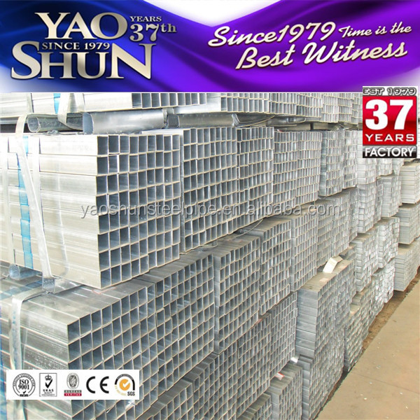 40*40*1.8mm zinc square <strong>tube</strong>/pre galvanized square hollow section