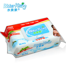80pcs private label organic skin care baby wipes