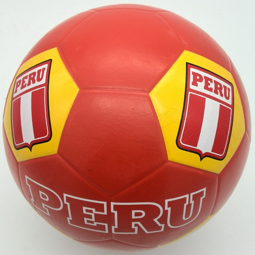 XidsenRubber Smooth surface Football size 3 ,Peru Team Design