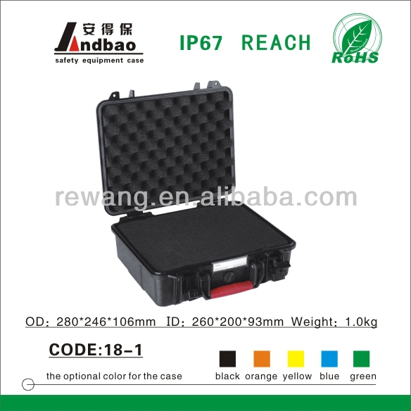 plastic waterproof tool case for computer