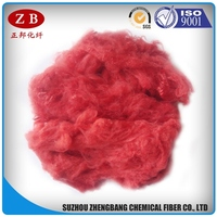 3D*51mm purple PSF solid polyester fiber for nonwoven cloth