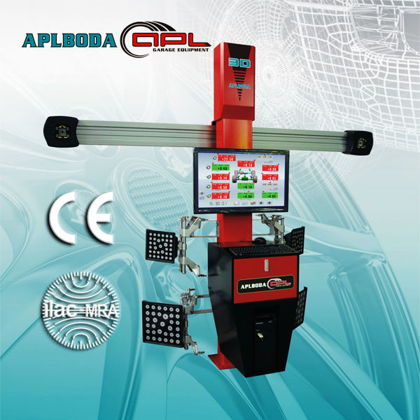 automobile workshop tools APL-S80 4 Wheel Aligner with Multi-Language Software,with CE certificate