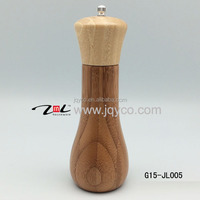 customized CHEAP bamboo pepper grinder, Salt And Pepper Mill, seasoning pot