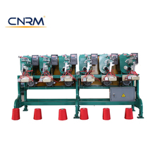 CNRM Automatic Measuring 6 Spindles Cone Sewing Thread Winding Machine
