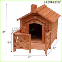 Superior dog house wood/luxury pet dog beds/bed for dog/HOMEX
