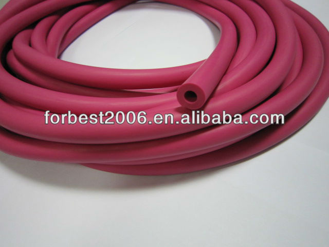 Red 8mm Natural latex rubber pipe,Latex rubber tube,Natural latex tube