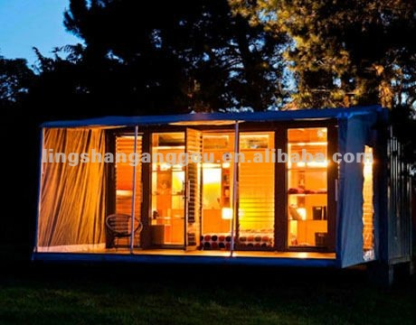 living 20ft container house for sale