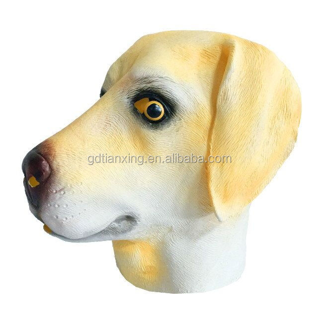 Easter Animal Fashion Party Puppy Face Latex Rubber Masks