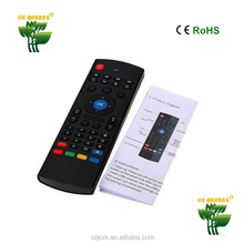Factory TV used MX3 controller 2.4g wireless keyboard air fly mouse remote control