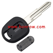 For transponder key blank with right blade