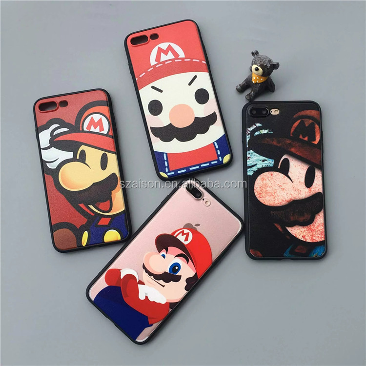 Latest Release Super Mario Run Mobile Phone Case Cover Skin for iPhone 6 6s 7 plus