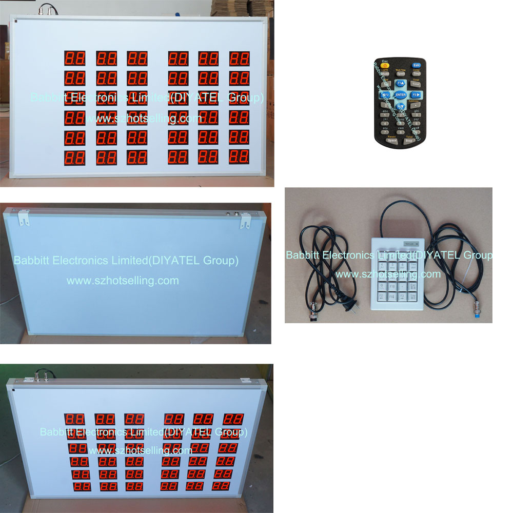 BTR-95L60H(N) Ticket LED board lottery ticket LED Display