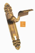 Brass Door Lever Handle 0015