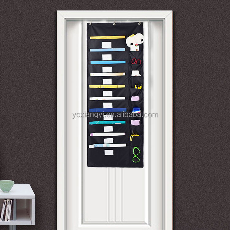 Hanging storage pocket charts over the door wholesale China supplier