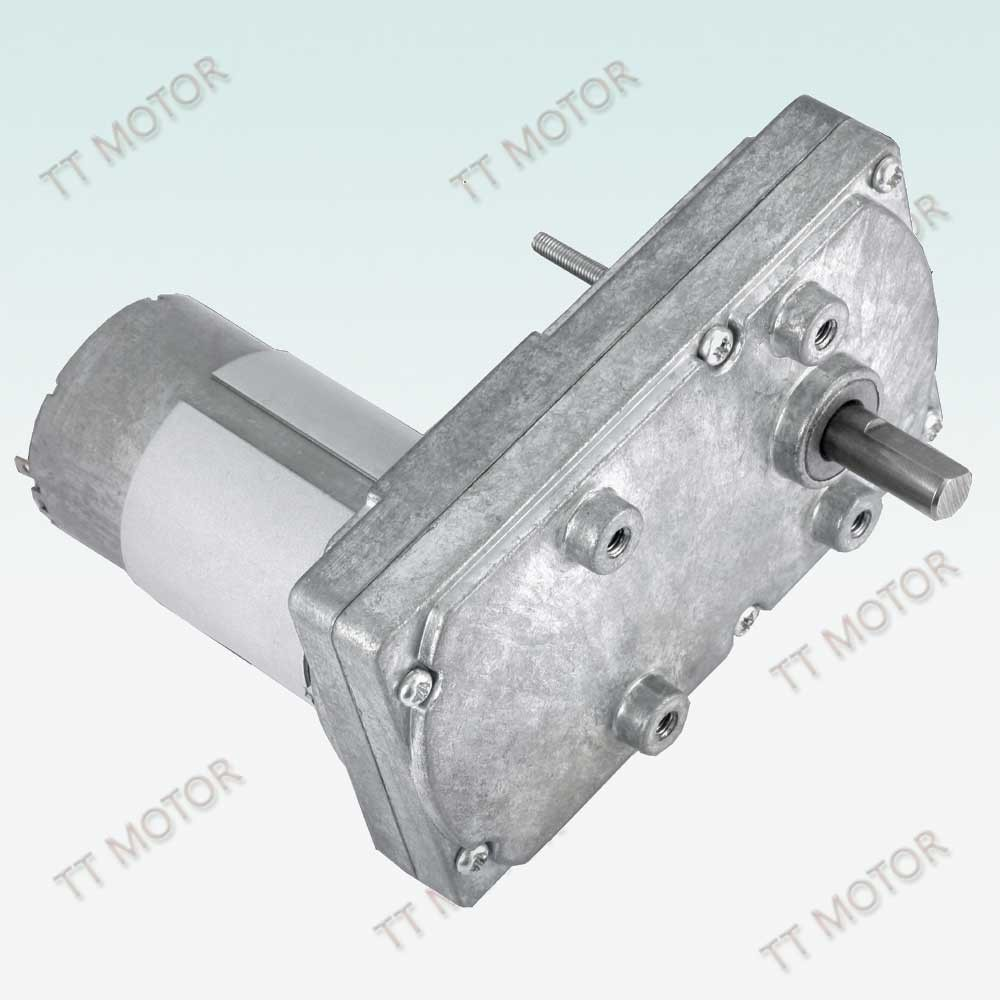 square gear motor 100mm for automatic door in car