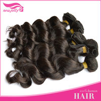 Graceful 5A grade human hair weaving/wholesale hair weave distributors/hair extension remy human hair
