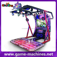 Arcade korean music video dancing heads machine