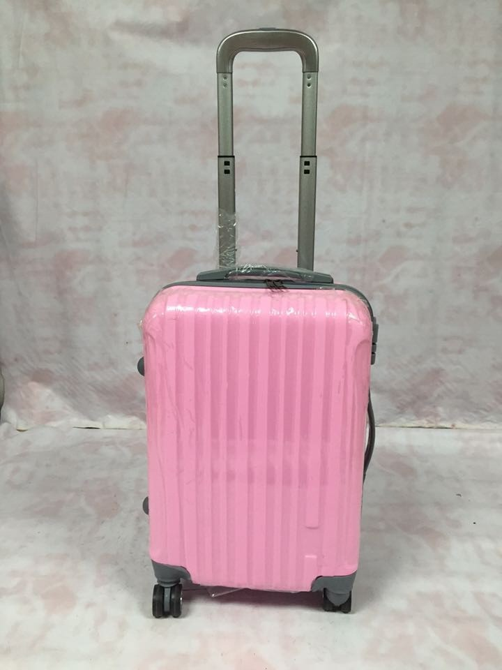 Cute Pink Girls Travel Suitcase,Lightweight Hard Shell Suitcase ...