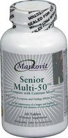 Senior Multi - 50 (Compare With Centrum Cilver) 60 Tab (Halal)