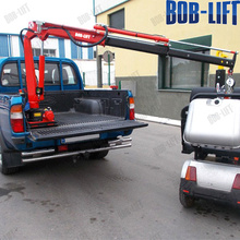 Mini Hydraulic Pickup Truck Boom Lift Crane for Sale