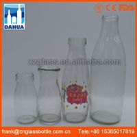 DH Fda Passed antique Purchase Classic Buying Vintage Style Old Glass Value Of Old Milk Bottles Purchase For Sale
