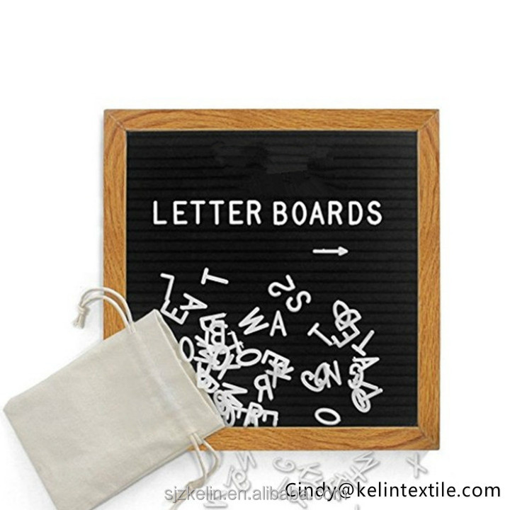 Best Felt Letter Board Sign Set with 290 Letters 10 x 10 inches Create Custom Messages Board